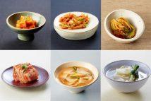 Various_kimchi